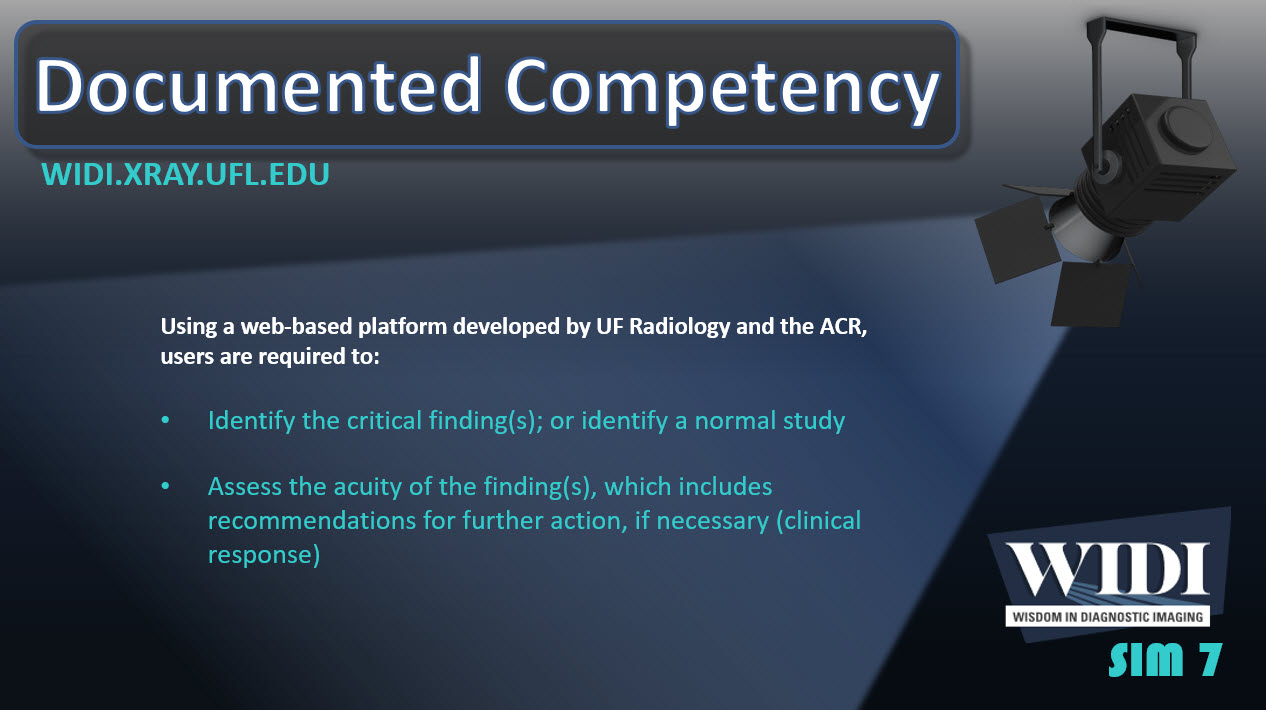 Documented Competency