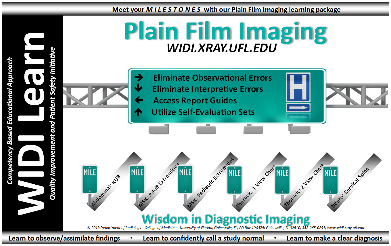 Plain Film Imaging Learning Package