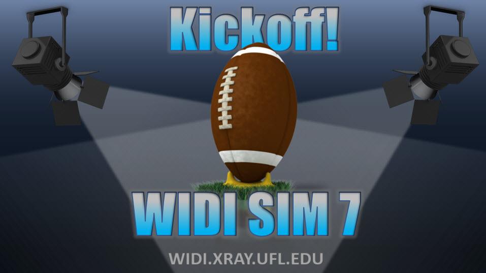 WIDI SIM 7 Kickoff