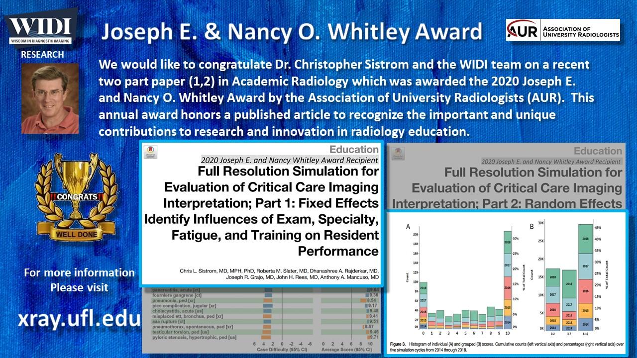 Whitley Award Slide 1